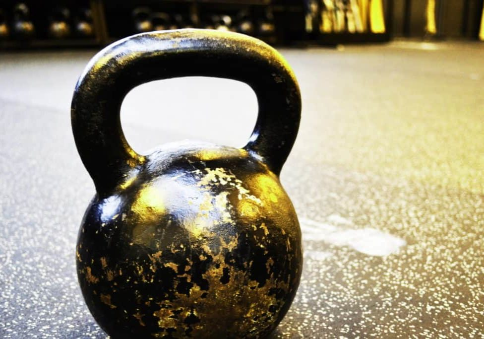 tapping is like swinging a kettlebell